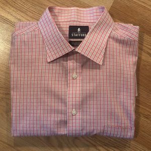 "Stanford fitted 17"" neck dress shirt"